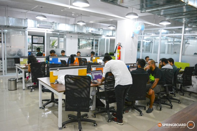 Shared Office Space, Coworking Space for Startups, Koramangala opposite National Games Village